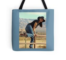 All American Cowgirl Tote Bag