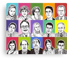 The Office Cast Canvas Print
