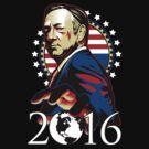 Underwood for 2016 by jimiyo