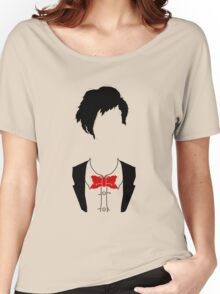 Eleventh Doctor Silhouette Women's Relaxed Fit T-Shirt