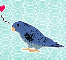cobalt linnie love by Danelle Malan