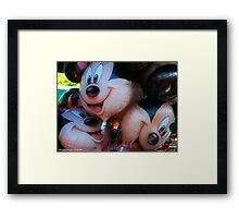 The happiest place  Framed Print