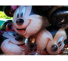 The happiest place  Photographic Print