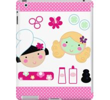 Beauty and spa design elements collection iPad Case/Skin