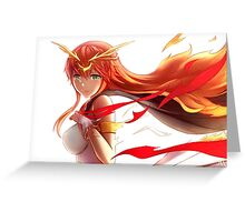 Flame of Love Greeting Card