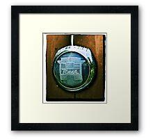 Nash Emblem Framed Print