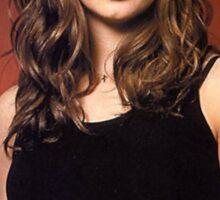 Buffy Angel Faith Eliza Dushku 1 Sticker