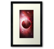 The Drift Framed Print