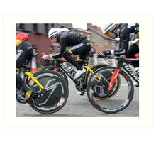 Giro d'Italia - Belfast  - Not So Pink Art Print