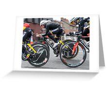Giro d'Italia - Belfast  - Not So Pink Greeting Card