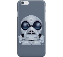 MiniWars: Deathstar Droid Figure iPhone Case/Skin