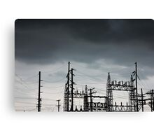 Power Forces Canvas Print
