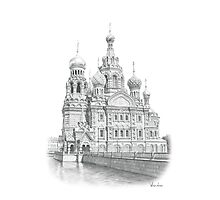 Church of the Savior on Blood Photographic Print