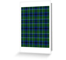 02831 Butte County, California Tartan  Greeting Card