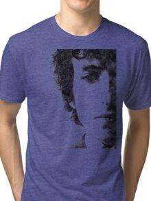 Bob Dylan portrait 02 Tri-blend T-Shirt