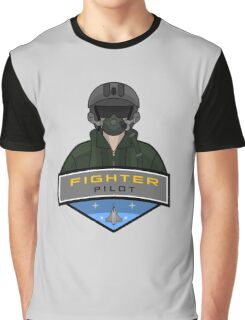 Air Force - Fighter Pilot Graphic T-Shirt