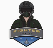 Air Force - Fighter Pilot Kids Tee