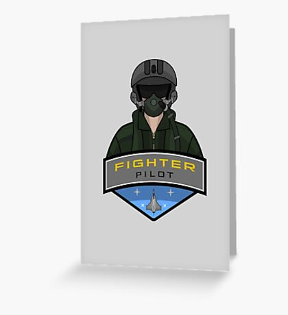 Air Force - Fighter Pilot Greeting Card