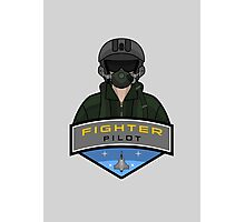 Air Force - Fighter Pilot Photographic Print