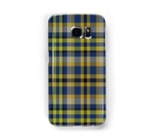02829 Saratoga County, New York Tartan Samsung Galaxy Case/Skin