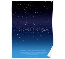 Science Fiction: The Movie!- Blue Poster