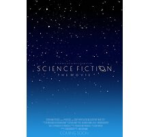 Science Fiction: The Movie!- Blue Photographic Print
