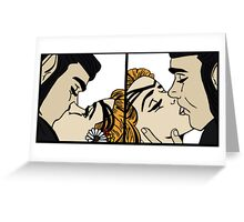Vaxleth - I kiss her... for awhile Greeting Card
