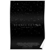Science Fiction: The Movie!- Black Poster