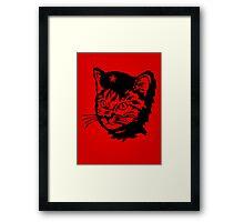 Che Cat Framed Print