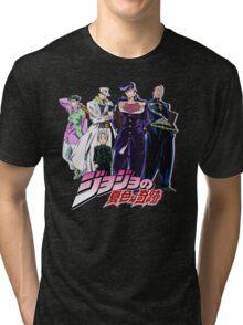 Crazy Noisy Bizarre Town - Jojo's Bizarre Adventure Tri-blend T-Shirt