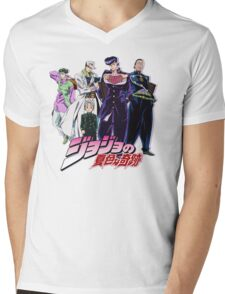 Crazy Noisy Bizarre Town - Jojo's Bizarre Adventure Mens V-Neck T-Shirt