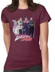 Crazy Noisy Bizarre Town - Jojo's Bizarre Adventure Womens Fitted T-Shirt
