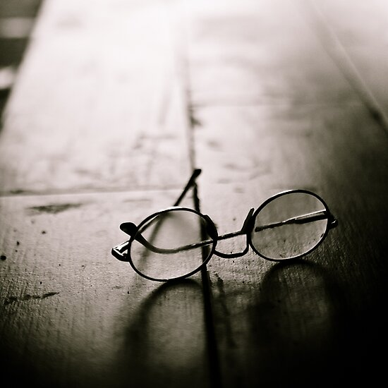 light in glasses by Victor Bezrukov