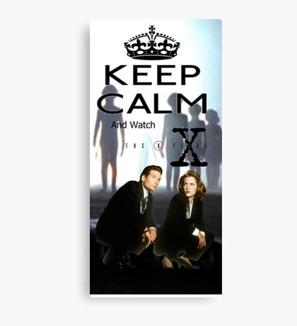 X Files 1 Canvas Print