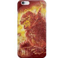 godzillava iPhone Case/Skin