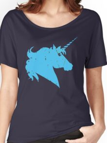 Pride Blue Women's Relaxed Fit T-Shirt