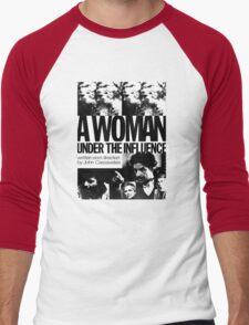 A Woman Under the Influence Men's Baseball ¾ T-Shirt