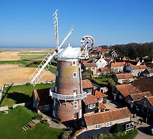 Cley Windmill - Unusual Aeriel shot by cleywindmill
