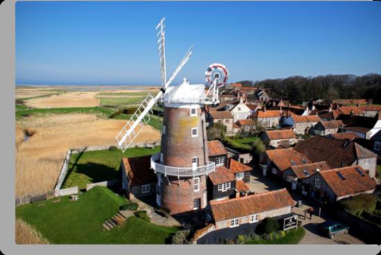 Cley Windmill - Unusual Aeriel shot by cleywindmill