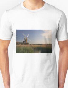 Cley Windmill - Unusual Aeriel shot T-Shirt
