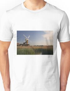 Cley Windmill - Unusual Aeriel shot T-Shirt