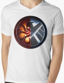 Agents of S.H.I.E.L.D or H.Y.D.R.A? Mens V-Neck T-Shirt