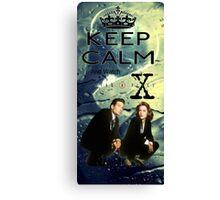 X Files 2 Canvas Print