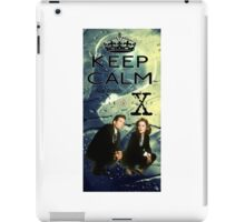 X Files 2 iPad Case/Skin