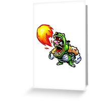 Wario: Master of Disguise Greeting Card