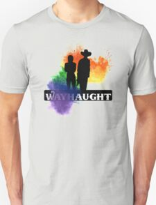 Wayhaught-Rainbow Splash Unisex T-Shirt