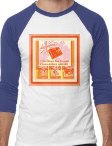 health researcher Men's Baseball ¾ T-Shirt