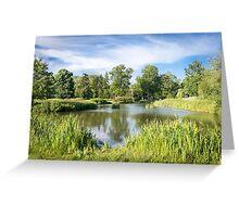 Rural Lake Greeting Card