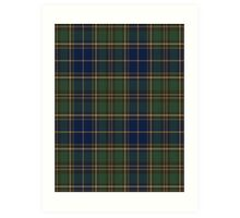 02823 City and County of Chesapeake, Virginia Tartan Art Print