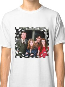 Buffy Cast Giles Xander Willow Classic T-Shirt